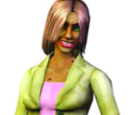 Sims with medium-length hair