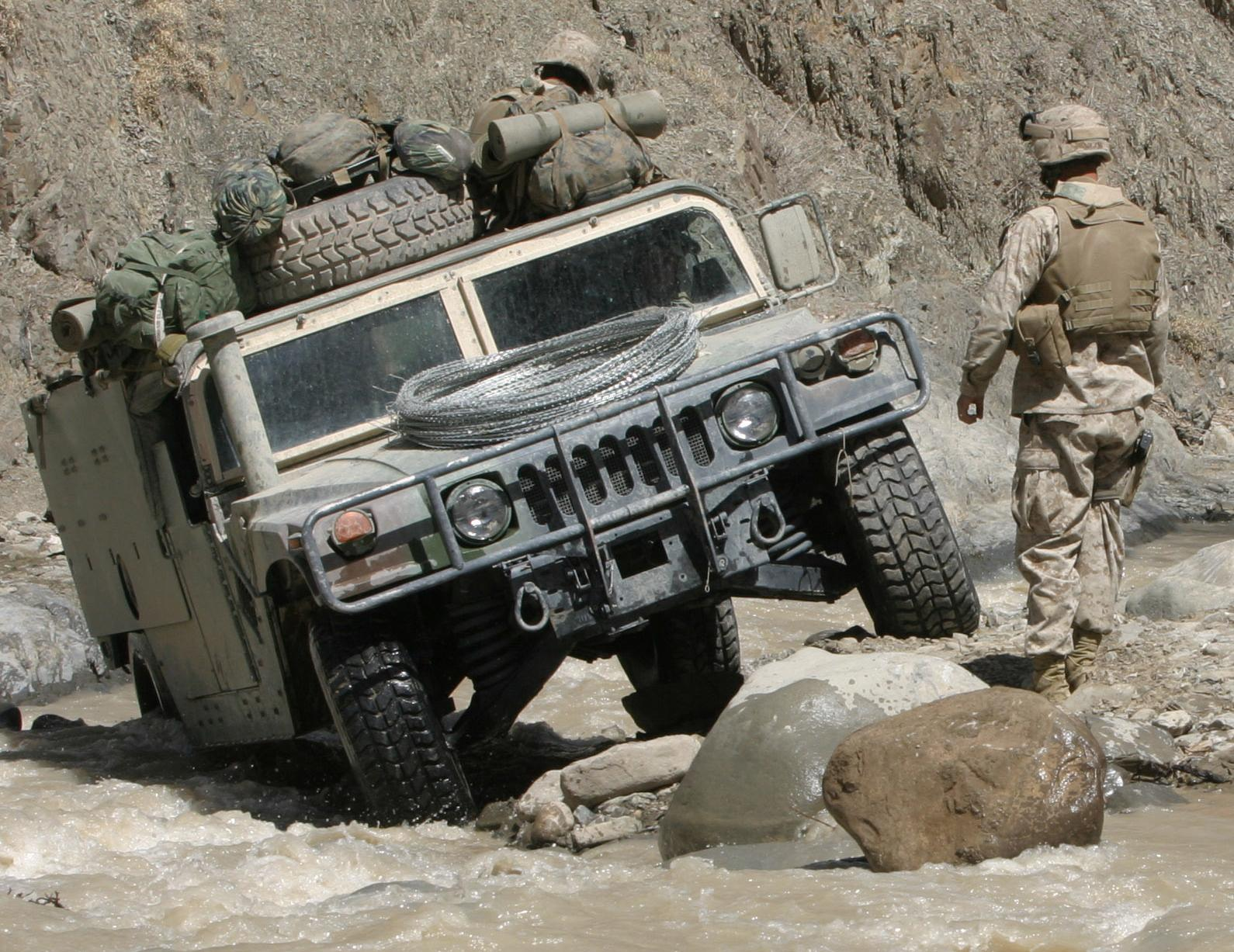 Humvee - Tractor & Construction Plant Wiki - The classic vehicle