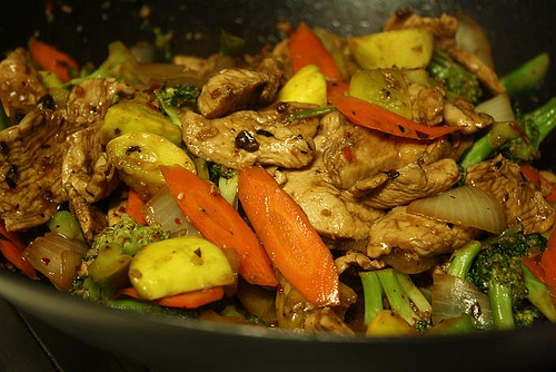 Garlic Chicken Zucchini Stir-fry - Gluten Free Recipes Wiki, gluten ...