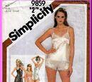 Simplicity 9859