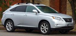 2009-2010 Lexus RX 350 (GGL15R) Sports Luxury wagon 01