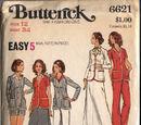 Butterick 6621 A