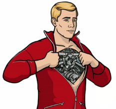 0---tvserials---archer wikia com During the Drift Problem episode of