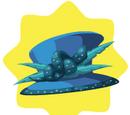 Blue Ribboned Hat