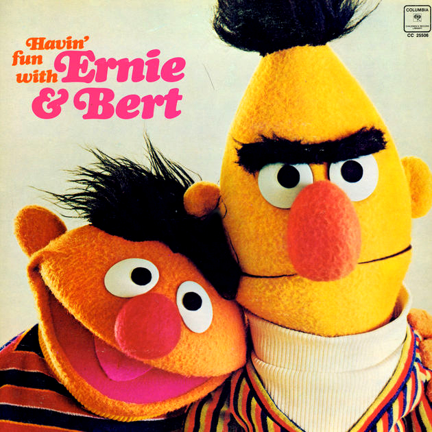 """Bert And Ernie"" Vs. ""Ernie And Bert"""