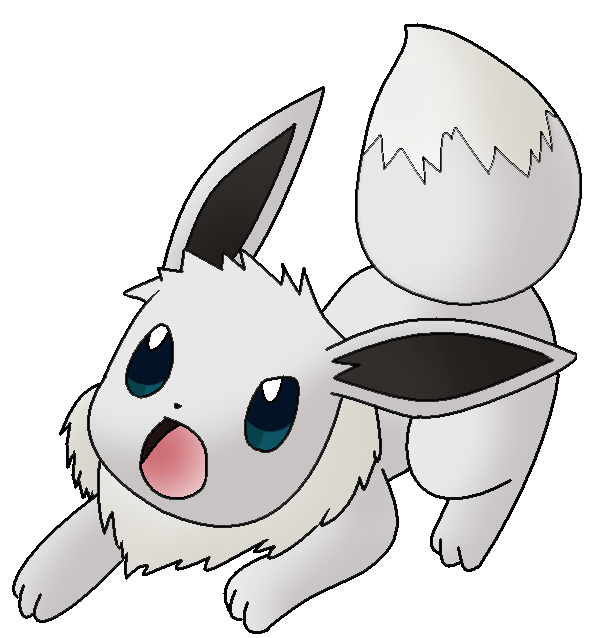 Imagen - Eevee shiny version by Thunderwest.png - PokeEspectaculos, la ...