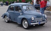Renault 4CV BW 1