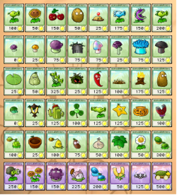 Image 250px All Plant Seed Packets Png Plants Vs