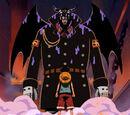 Monkey D. Luffy gegen Magellan