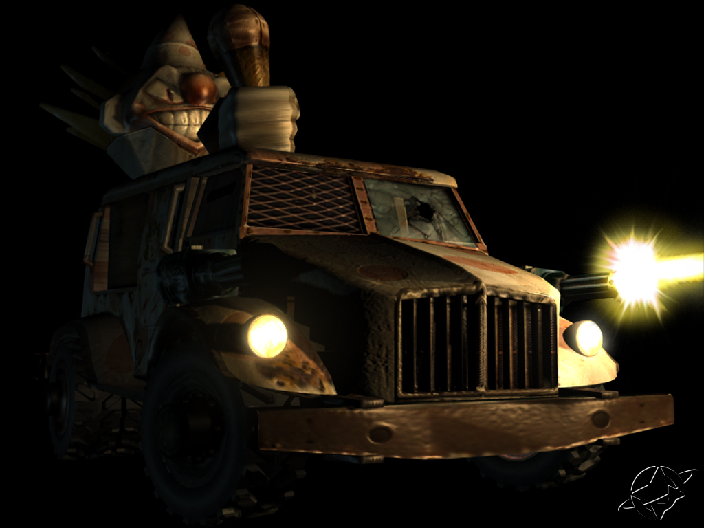 Sweet tooth twisted metal wiki - Sweet tooth wallpaper twisted metal ...