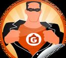 Check-in Superhero (Sticker)