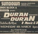 Duran Duran - (1981) - First UK Tour
