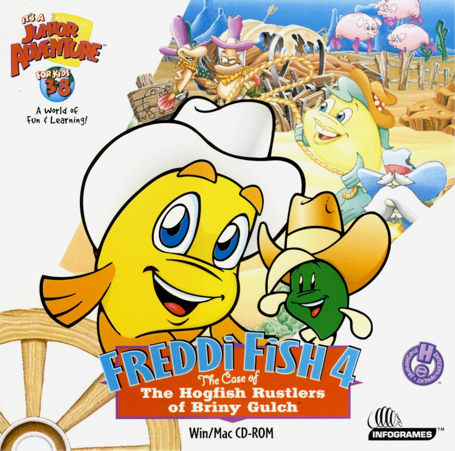 freddi fish 4 the case of the hogfish rustlers of briny