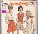 Simplicity 7592 A