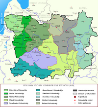Lithuania in the 17th century