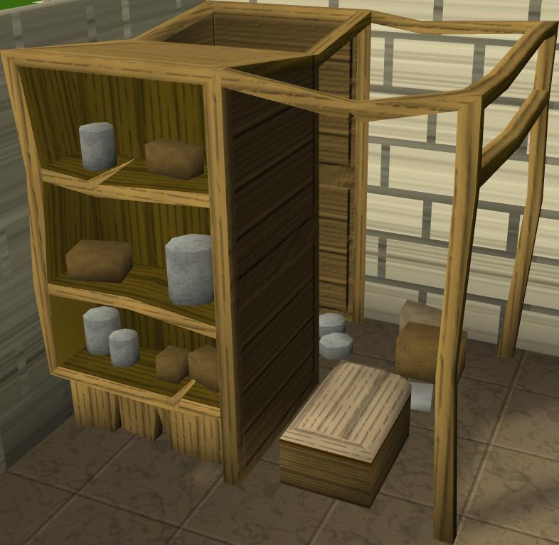 Wooden larder - The RuneScape Wiki