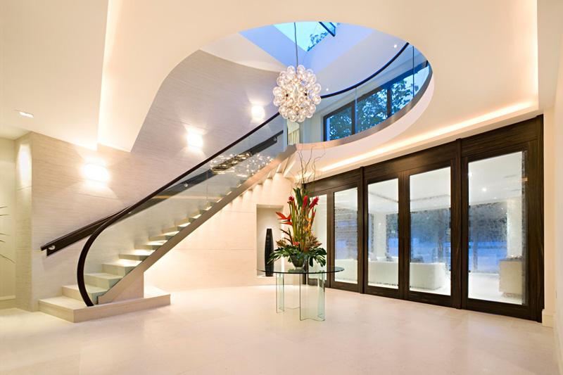 wonderful unique luxury glass home designs   Image - Luxury contemporary unique modern mansion property ...