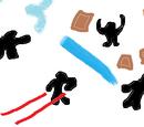 Avatar vernietiger: personages