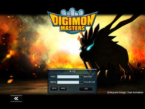 Game digimonmasters cover