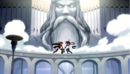 Erza Knightwalker and Erza Scarlet fighting on a bridge.png
