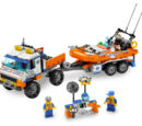 Coast Guard Truck with Speed Boat 7726