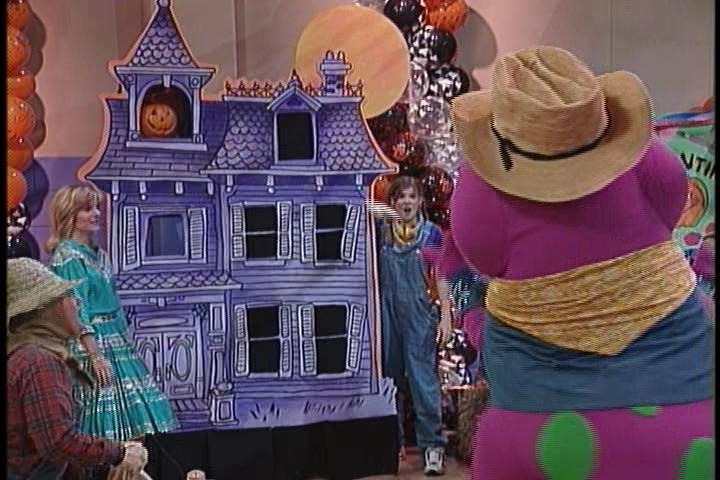 barney's halloween party part 1
