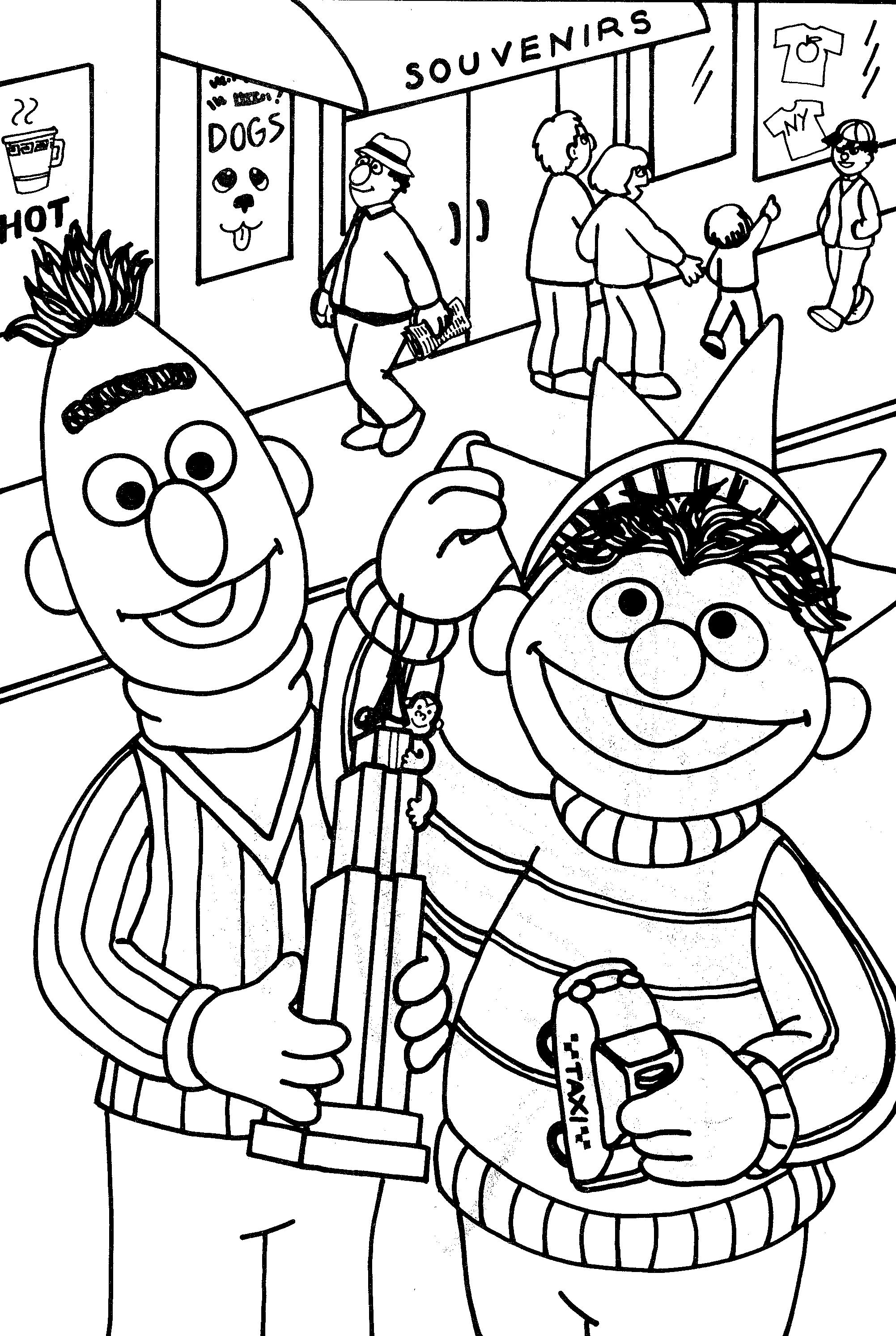 nyc coloring pages - photo#24