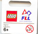 853275 FIRST LEGO League Key Chain - Female