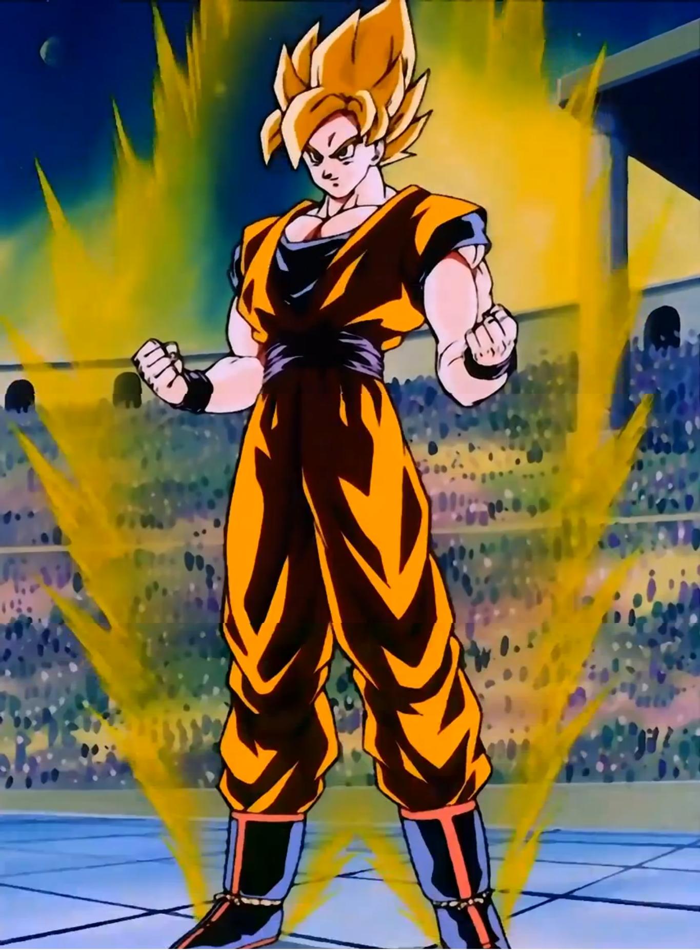 Goku vs pikkon dragon ball wiki - Dragon ball z super sayen ...