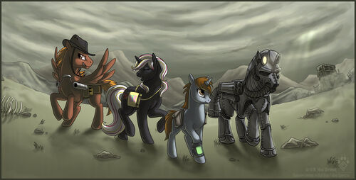 Squishy Collection Fallout Horizons : SteelHooves - Fallout: Equestria Wiki