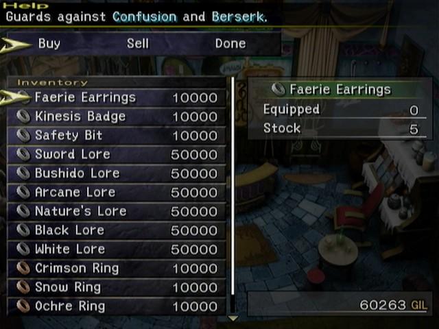 Final fantasy x weapons 4 empty slots