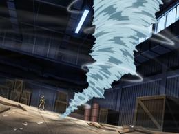 Leão Vento fang dança de guerra