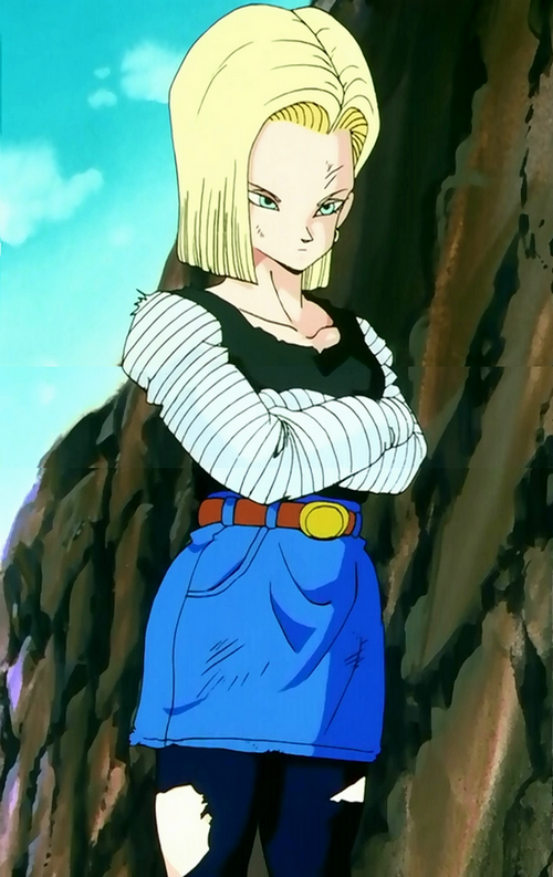 No Match For The Androids Dragon Ball Wiki Wikia