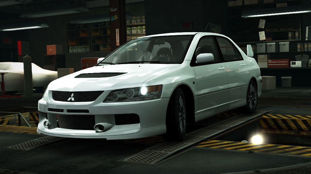 mitsubishi lancer evolution ix mr edition at the need for speed wiki need for speed series. Black Bedroom Furniture Sets. Home Design Ideas