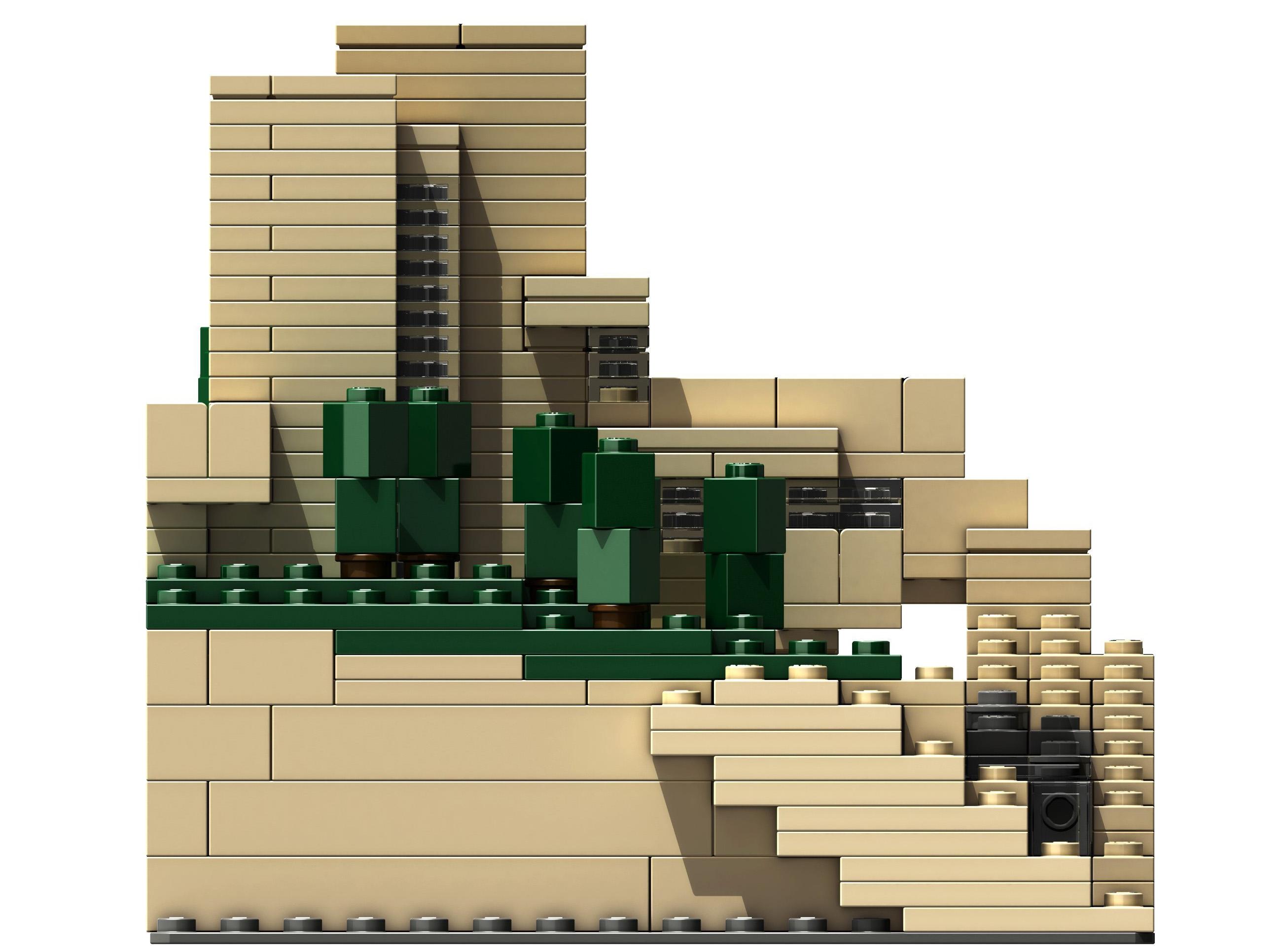 Image lego fallingwater brickipedia the lego wiki - Falling waters lego ...