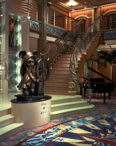 Disney Cruise Atrium Disney-magic-atrium