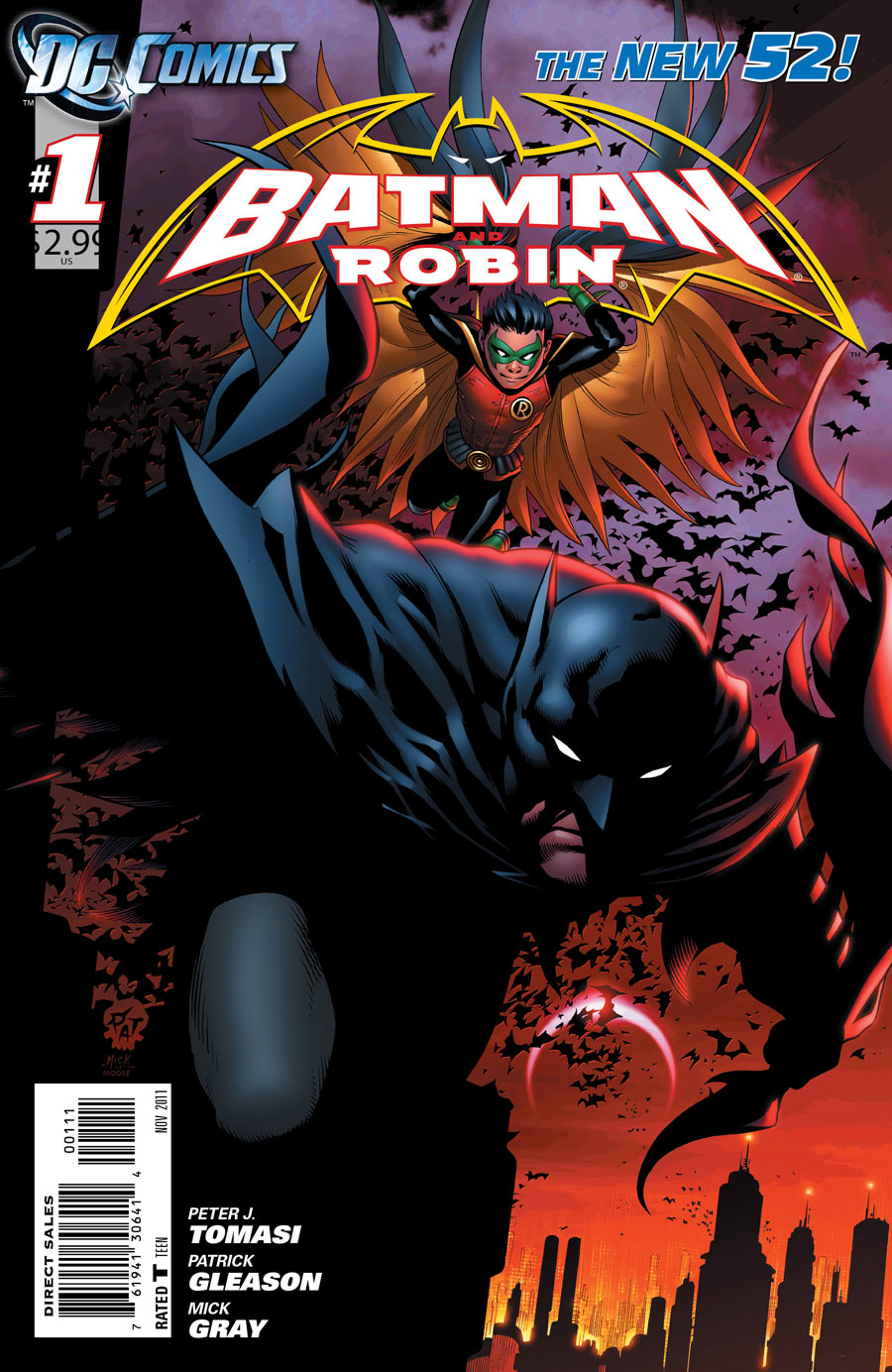 [DC Comics] Batman: discusión general Batman_and_Robin_Vol_2_1
