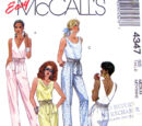 McCall's 4347 B