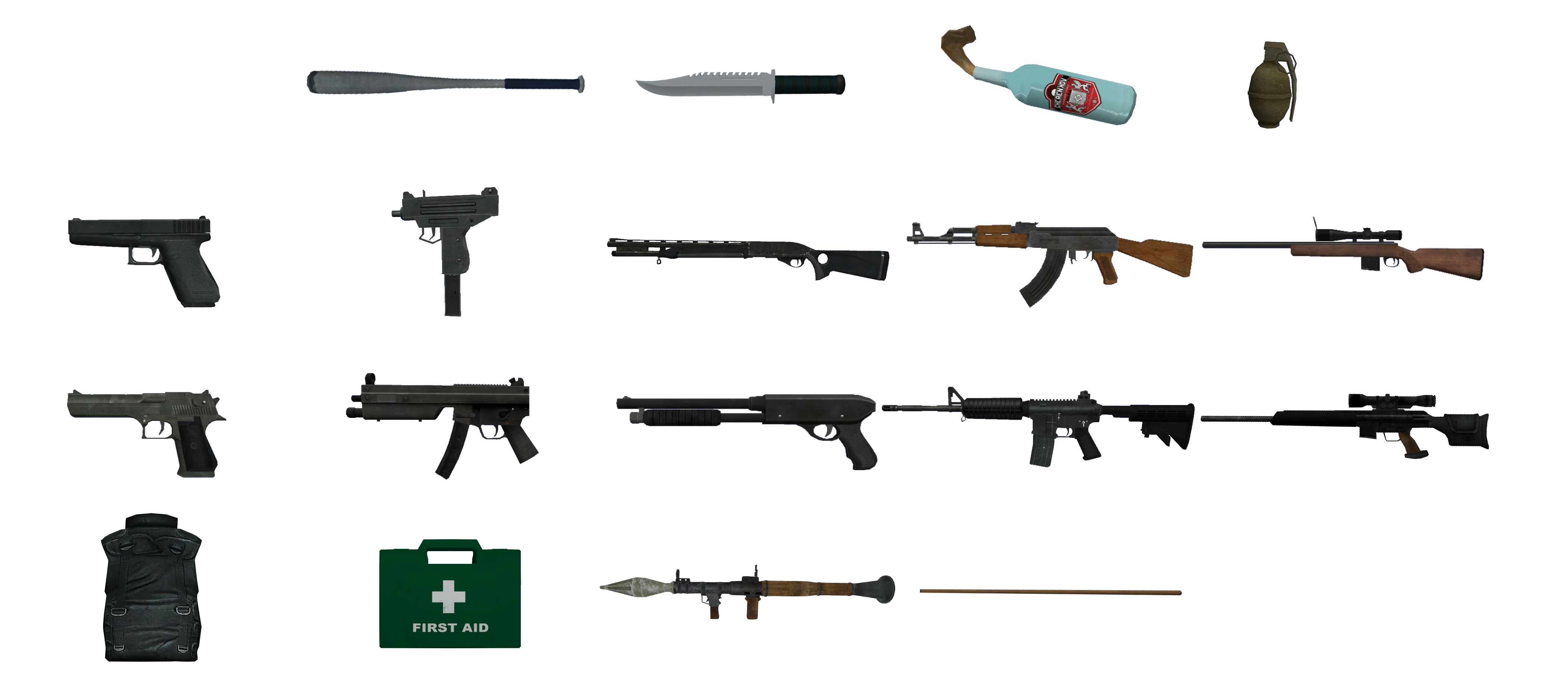 Gta 5 New Guns File:gta iv Guns.png