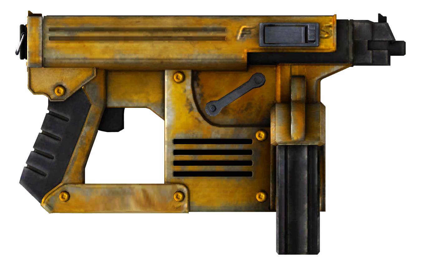 Golden Nail Gun