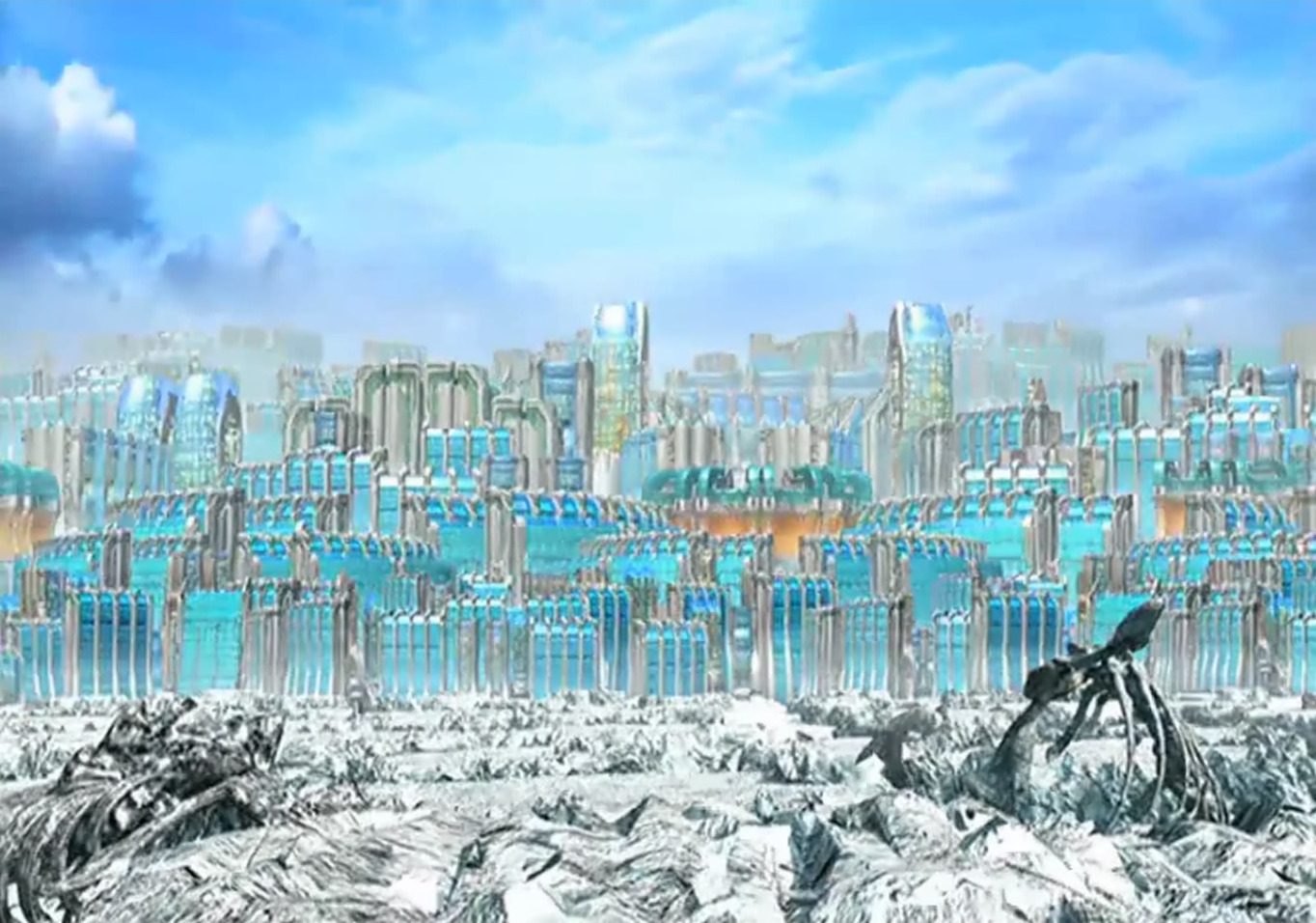 Esthar City The Final Fantasy Wiki 10 Years Of Having