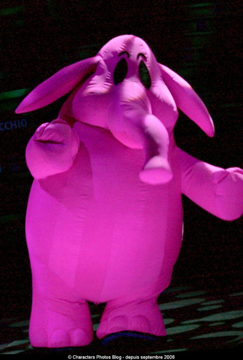 a Pink Elephant in Animagique