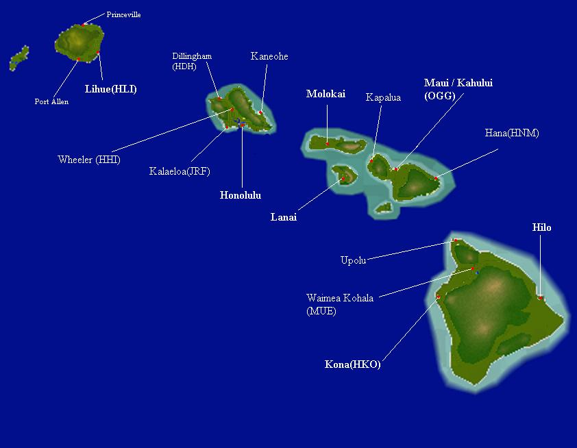 Number Of Islands That Make Up Hawaii