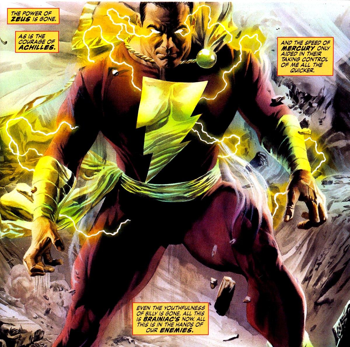 Captain Marvel Shazam Appreciaton Archive
