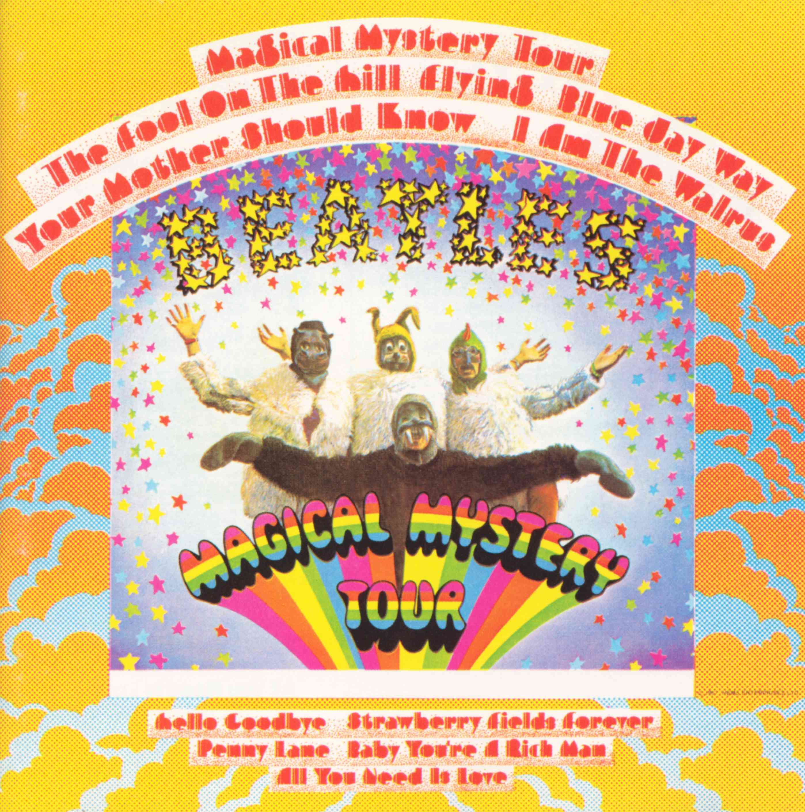 Magical Mystery Tour Us Album Covers Wiki