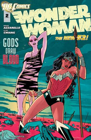Cover for Wonder Woman #2 (2011)