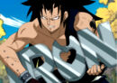 Gajeel eats iron made by Levy.jpg