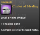 Circlet of Healing