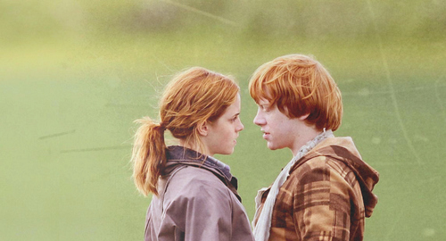 Image cute emma watson harry potter hermione granger love rony