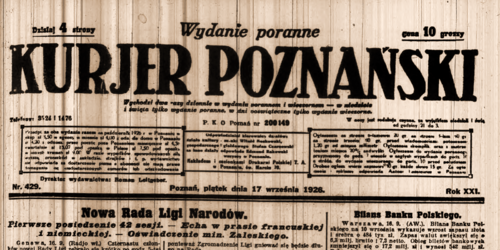Kurier Wikipedia: 500px-Kurier_Poznański_nr_297.png